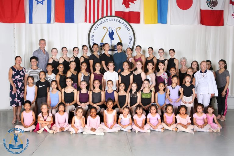 Group Pictures Summer Programs 2019 at Victoria International Ballet Academy